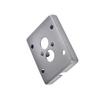 233214 MYRALED WALL, NEW MYRA, ENOLA_C OUT, рамка для внешней проводки, серебристый SLV by Marbel