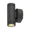 233235 SLV HELIA LED UP/DOWN светильник настенный IP55 12Вт c LED 3000К, 2x350лм, 2х 38°, антрацит