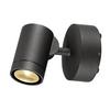 233245 SLV HELIA LED SPOT SINGLE светильник накладной IP55 8Вт c LED 3000К, 450лм, 38°, антрацит