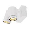 233251 SLV HELIA LED SPOT DOUBLE светильник накладной IP55 16Вт c LED 3000К, 900лм, 2х 38°, белый