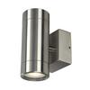 233302 ASTINA STEEL светильник настенный IP44 для 2х ламп GU10 по 35Вт макс., сталь SLV by Marbel
