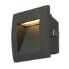 233605 DOWNUNDER OUT S светильник встраиваемый IP55 1.7Вт c LED 3000К, 25лм, антрацит SLV by Marbel