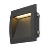 233615 DOWNUNDER OUT L светильник встраиваемый IP55 3.3Вт c LED 3000К, 85лм,антрацит SLV by Marbel
