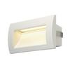233621 DOWNUNDER OUT M светильник встраиваемый IP55 3.3Вт c LED 3000К, 155лм, белый SLV by Marbel
