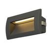 233625 DOWNUNDER OUT M светильник встраиваемый IP55 3.3Вт c LED 3000К, 85лм,антрацит SLV by Marbel