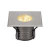 233732 DASAR® 150 PREMIUM SQUARE светильник встраиваемый IP67 17Вт c LED 3000К, 1200лм, 30°, Al, сталь SLV by Marbel