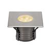 233736 DASAR® 150 PREMIUM SQUARE светильник встраиваемый IP67 17Вт c LED 3000К, 1200лм, 60°, Al, сталь SLV by Marbel