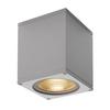 234524 BIG THEO LED WL светильник настенный IP44 21Вт с LED 3000К, 2000лм, 24°, серебристый SLV by Marbel