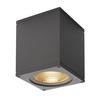 234525 BIG THEO LED WL светильник настенный IP44 21Вт с LED 3000К, 2000лм, 24°, антрацит SLV by Marbel