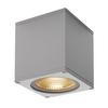 234534 BIG THEO LED CL светильник потолочный IP44 21Вт с LED 3000К, 2000лм, 24°, серебристый SLV by Marbel