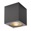 234535 BIG THEO LED CL светильник потолочный IP44 21Вт с LED 3000К, 2000лм, 24°, антрацит SLV by Marbel