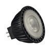 551242 SLV LED MR16 источник света 12В, 3.8Вт, 2700K, 225лм, 40°, черный корпус