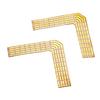 552463 FLEXLED ROLL RGBW, паяльные уголки 90° для ленты 12мм, 2 шт. SLV by Marbel