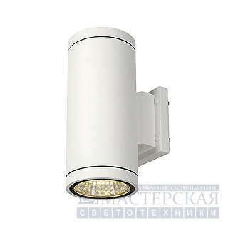 Marbel 228521 SLV ENOLA_C OUT UP-DOWN wall lamp, round, white, 9W LED, 3000K