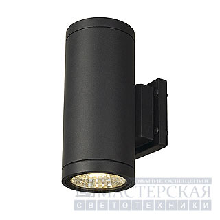 Marbel 228525 SLV ENOLA_C OUT UP-DOWN wall lamp, round, anthracite, 9W LED, 3000K