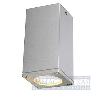 Marbel 229584 SLV THEO CEILING OUT светильник пот. IP23 GU10 35Вт макс., серебристый