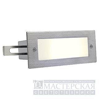 Marbel 230232 SLV BRICK LED 16 светильник встр. IP44 c 16 WW LED, 1Вт, сталь