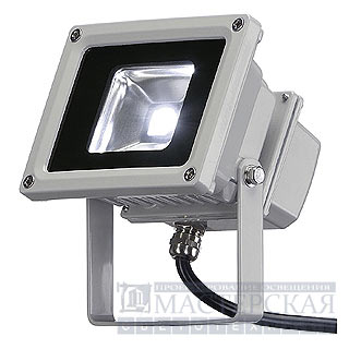 Marbel 231101 SLV LED OUTDOOR BEAM 10W светильник IP65 с SMD LED 10Вт, 610lm, 5700K, серебристый