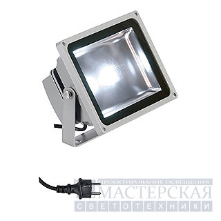 Marbel 231111 SLV LED OUTDOOR BEAM 30W светильник IP65 с SMD LED 30Вт, 2100lm, 6000K, серебристый