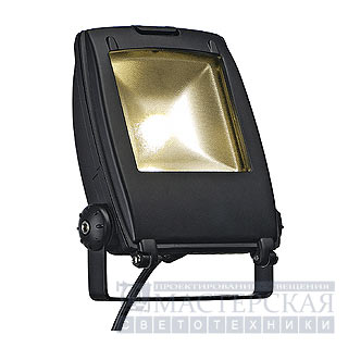 Marbel 231152 SLV LED FLOOD LIGHT 10W светильник IP65 с SMD LED 10Вт, 3300K, 540lm, черный