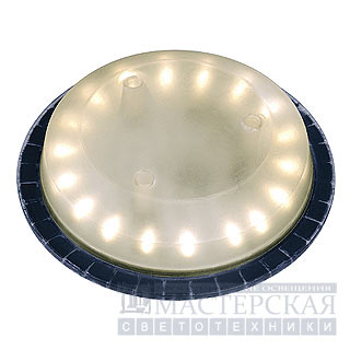 Marbel 550332 SLV BIG LED PLOT INSERT, источник света IP67 из 18 LED 3.8Вт, белый теплый