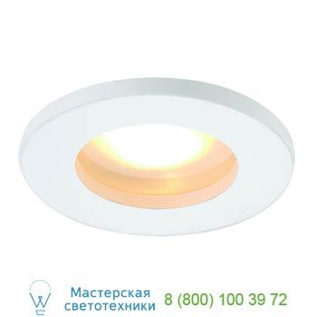 Marbel 111001 FGL OUT ROUND MR16 светильник встраиваемый IP65 для лампы MR16 35Вт макс., белый / стекло мат