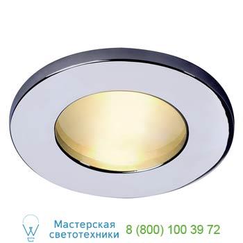 Marbel 111002 FGL OUT ROUND MR16 светильник встраиваемый IP65 для лампы MR16 35Вт макс., хром / стекло мато