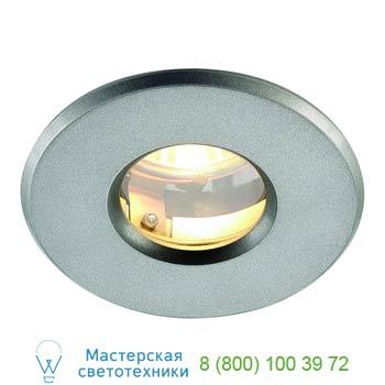 Marbel 111019 OUT 65 светильник встраиваемый IP65 для лампы MR16 35Вт макс., серебристый / стекло прозрачно