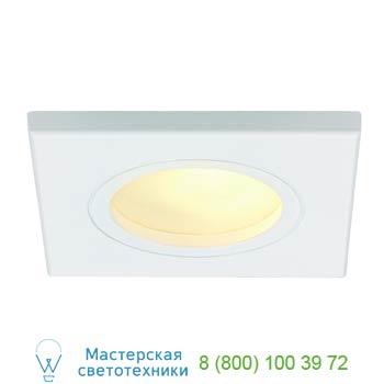 Marbel 111121 FGL OUT SQUARE MR16 светильник встраиваемый IP65 для лампы MR16 35Вт макс., белый / стекло ма