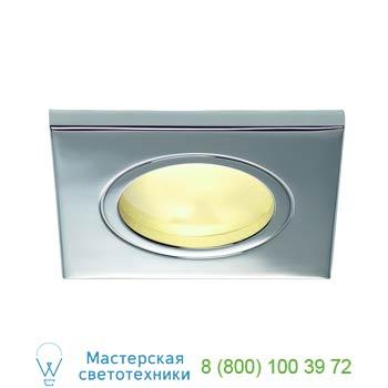 Marbel 111142 FGL OUT SQUARE GU10 светильник встраиваемый IP65 для лампы GU10 35Вт макс., хром / стекло мат