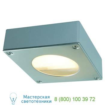 Marbel 111482 QUADRASYL 44 D светильник накладной IP44 для лампы GX53 9Вт макс., серебристый/ сталь, SLV