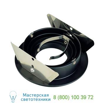 Marbel 111710 NEW TRIA ROUND GU10 PLT светильник встраиваемый для лампы GU10 50Вт макс.,черный, SLV