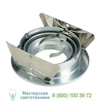 Marbel 111716 NEW TRIA ROUND GU10 PLT светильник встраиваемый для лампы GU10 50Вт макс., алюминий, SLV