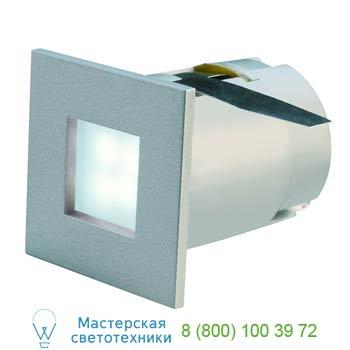 Marbel 112711 MINI FRAME LED светильник встраиваемый со 4-мя белыми LED общ. мощностью 0.3Вт, серебристый,