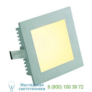Marbel 112732 FLAT FRAME, BASIC светильник встраиваемый для лампы G4 20Вт макс., серебристый, SLV