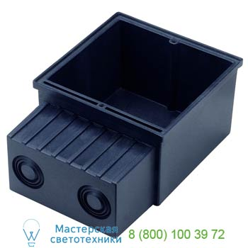 Marbel 112781 FLAT FRAME, корпус монтажный, черный, SLV