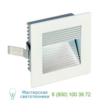 Marbel 113290 FRAME CURVE LED светильник встраиваемый с PowerLED 1Вт, 4000K, 350mA, 110lm, белый/ алюминий,