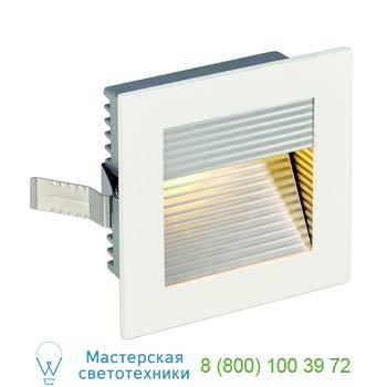 Marbel 113292 FRAME CURVE LED светильник встраиваемый с PowerLED 1Вт, 3000K, 350mA, 90lm, белый/ алюминий,