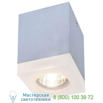 Marbel 114740 TIGLA SQUARE светильник потолочный для лампы GU10 50Вт макс., матированный алюминий / акрил м