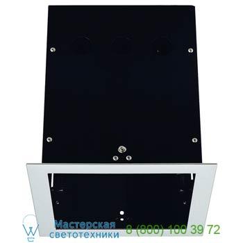 Marbel 115104 AIXLIGHT® PRO, 1 FRAME корпус с рамкой для 1-го светильникa MODULE, серебристый / черный, SLV
