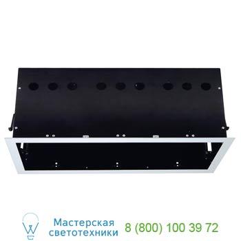 Marbel 115124 AIXLIGHT® PRO, 3 FRAME корпус с рамкой для 3-x светильников MODULE, серебристый / черный, SLV
