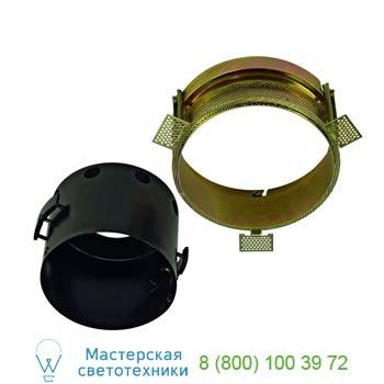 Marbel 115624 AIXLIGHT® PRO, 1 FLAT FRAMELESS ROUND корпус без рамки для 1-го светильника MODULE, черный, S