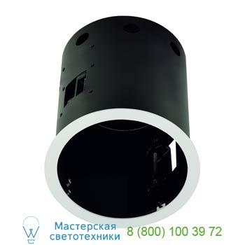 Marbel 115641 AIXLIGHT® PRO, 1 FRAME ROUND корпус с рамкой для 1-го светильникa MODULE, текстурный белый/ ч