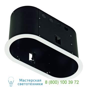 Marbel 115651 AIXLIGHT® PRO, 2 FRAME ROUND корпус с рамкой для 2-х светильников MODULE, текстурный белый/ ч