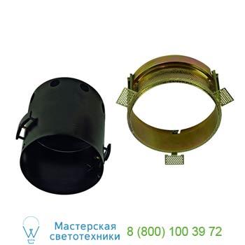 Marbel 115674 AIXLIGHT® PRO, 1 FRAMELESS ROUND корпус без рамки для 1-го светильника MODULE, черный, SLV