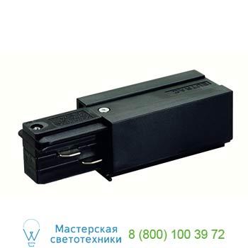 """Marbel 145510 EUTRAC®, наконечник с разъемами подвода питания, """"ноль"""" слева, черный, SLV"""