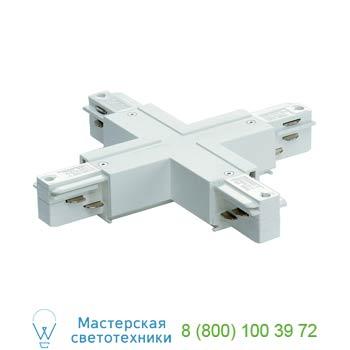 Marbel 145691 EUTRAC®, X-коннектор электрический для двух контуров с разъемом подвода питания, белый, SLV