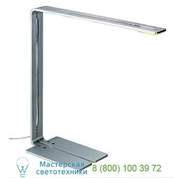 Marbel 146046 CYGNIS светильник настольный с LED-панелью 6Вт, 3000K, 120°, 650lm, матированный алюминий, SL