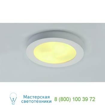 Marbel 148001 GL 105 E27 ROUND светильник потолочный для 2-х ламп E27 по 25Вт макс., белый гипс, SLV