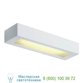 Marbel 148011 GL 103 T5 светильник настенный для лампы T5 8Вт, белый гипс, SLV